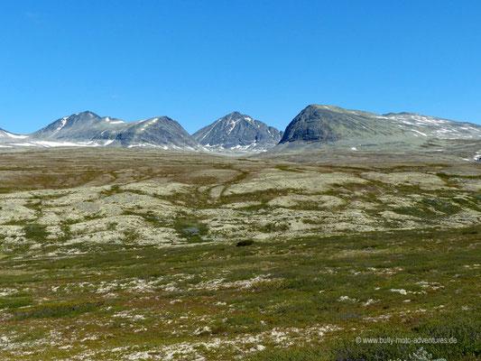 Norwegen - Rondane Nationalpark - Wanderung zur Hütte Rondvassbu