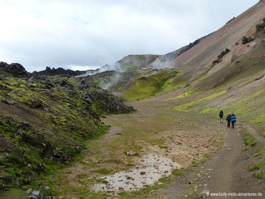 Island - Laugavegur - Lavafeld Laugahraun