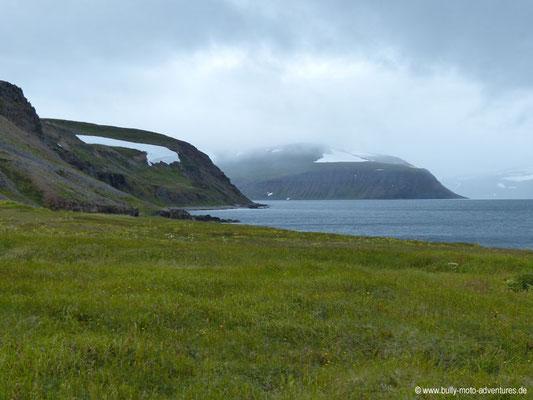 Island - Hornstrandir - Etappe 5 - Hesteyri über Sléttunes nach Hesteyri