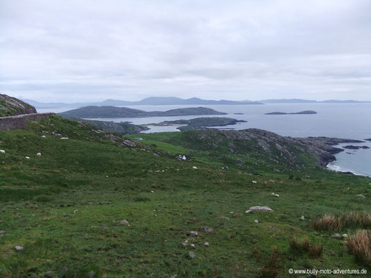 Irland - Coomakesta Pass - Iveragh Peninsula - Co. Kerry