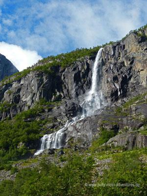 Norwegen - Jostedalsbreen Nationalpark - Campingplatz Melkevoll Bretun