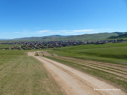 Mongolei - Blick auf Bat-Ulzii
