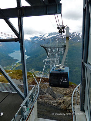 Norwegen - Loen Skylift