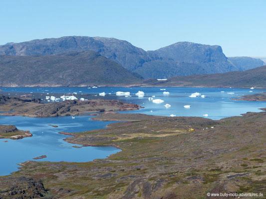 Grönland - Blick auf den Sermilik Eisfjord