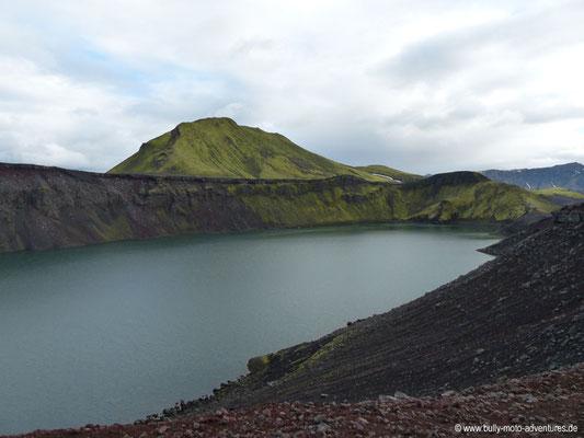 Island - Kratersee Ljótipollur