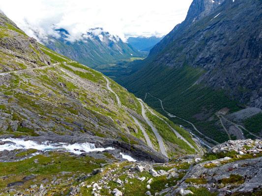 Norwegen - Landschaftsroute Geiranger-Trollstigen - Trollstigen
