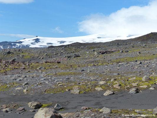 Island - Fimmvörðuháls - Gletscher Eyjafjallajökull
