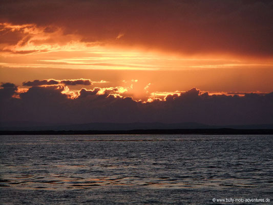 Irland - Sonnenuntergang in Ballyvaughan - Co. Clare