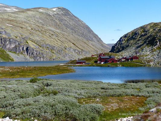 Norwegen - Rondane Nationalpark - Hütte Rondvassbu