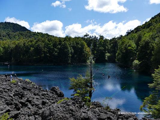 Chile - Parque Nacional Conguillío - Laguna Arco Iris