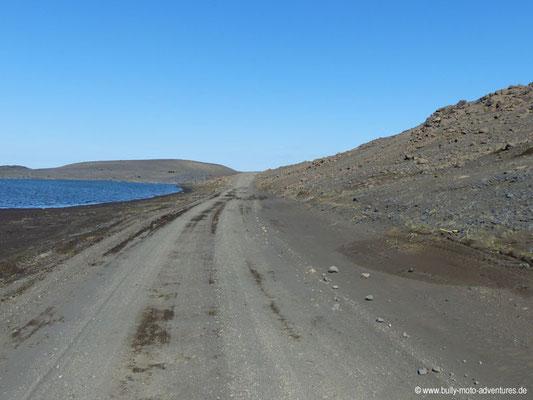 Island - Straße F88 - Öskjuleið