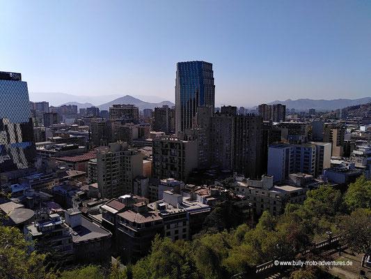 Chile - Santiago de Chile - Blick vom Cerro Santa Lucía