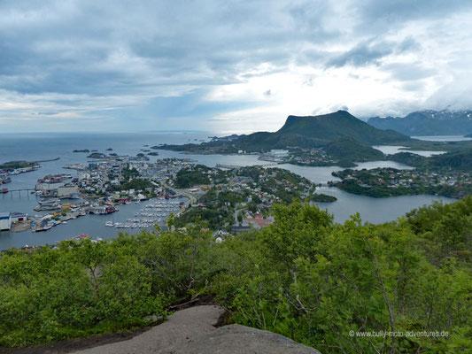 Norwegen - Lofoten - Blick auf Svolvær
