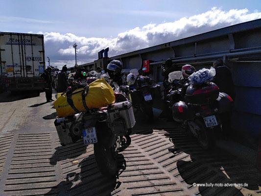 Chile - Fährverbindung Primera Angostura über die Magellanstraße