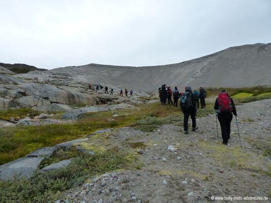 Grönland - durch Sanddünen geprägtes Tal