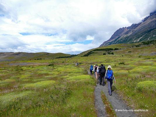 Chile - Parque Nacional Torres del Paine - W-Trek - Wanderung zum Camping Francés