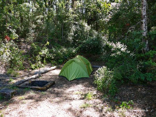Chile - Petrohue - Campingplatz am Lago Todos Los Santos