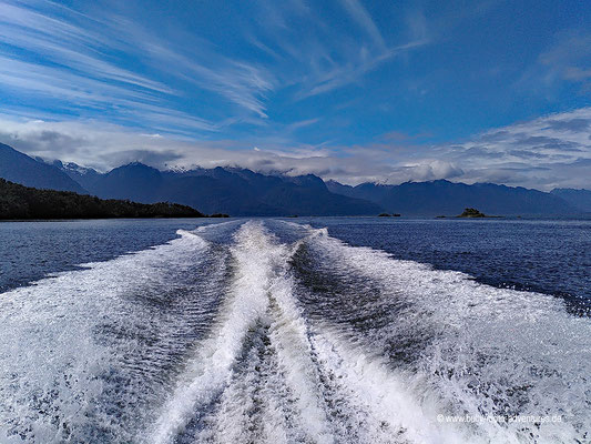 Chile - Parque Nacional Laguna San Rafael - Bootsfahrt zur Laguna San Rafael