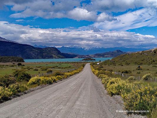Chile - Carretera Austral - Blick auf den Lago General Carrera