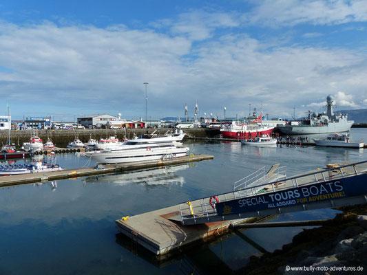 Reykjavík - Alter Hafen