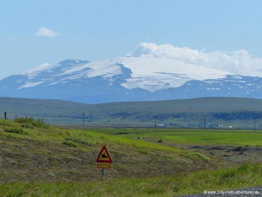 Island - Ringstraße 1 - Blick auf Eyjafjallajökull