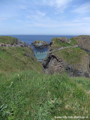 Irland - Carrick-a-Rede Rope Bridge