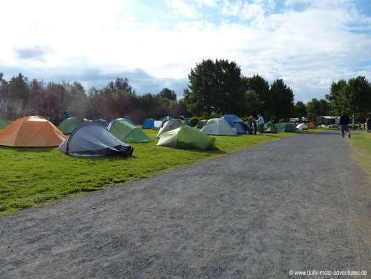 Reykjavík - Campingplatz