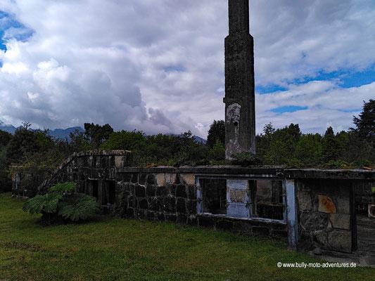 Chile - Parque Nacional Laguna San Rafael - Überreste des Hotels San Rafael