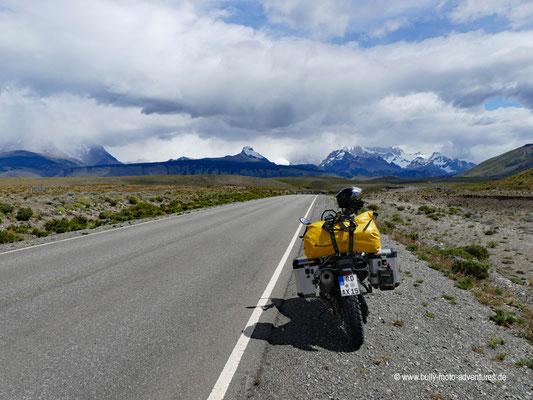 Argentinien - Straße 23 - Fahrt nach El Chaltén