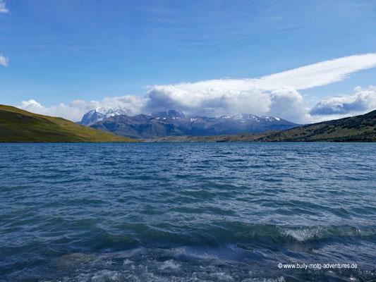 Chile - Parque Nacional Torres del Paine - Laguna Azul