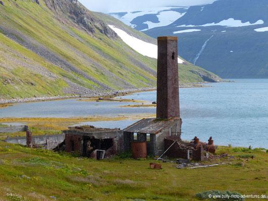 Island - Hornstrandir - Etappe 7 - Hesteyri über Stekkeyri nach Hesteyri - Alte Walfangstation