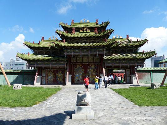Mongolei - Ulaanbaatar - Winterpalast des Bogd Khan