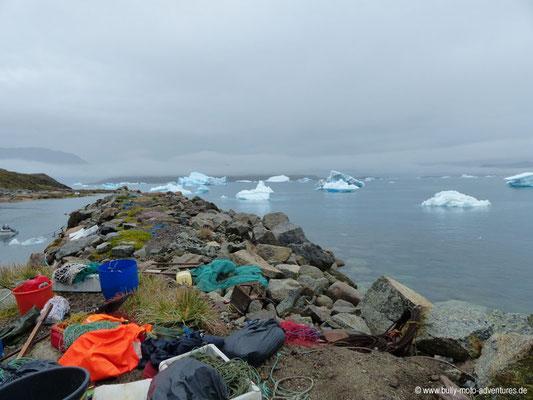 Grönland - Eisberge vor Narsaq