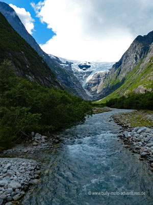 Norwegen - Jostedalsbreen Nationalpark - Kjenndalsbreen Gletscher
