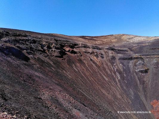 Chile - Reserva Nacional Nalcas - Wanderung zum Crater Navidad - Crater Navidad