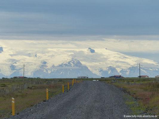 Island - Straße 204 - Blick auf Vatnajökull