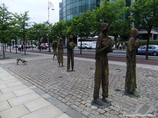 Irland - Denkmal für die Opfer der Hungersnot - Dublin - Co. Dublin