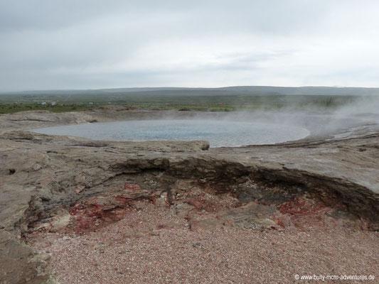 Island - Geothermalfeld - Geysir
