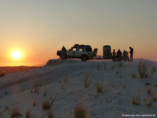 Sonnenuntergang in Uis