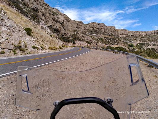 Argentinien - Ruta 40 südlich von Malargüe