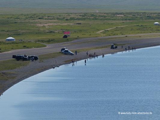 Mongolei - See Ögii Nuur