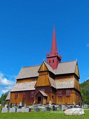 Norwegen - Stabkirche Ringebu