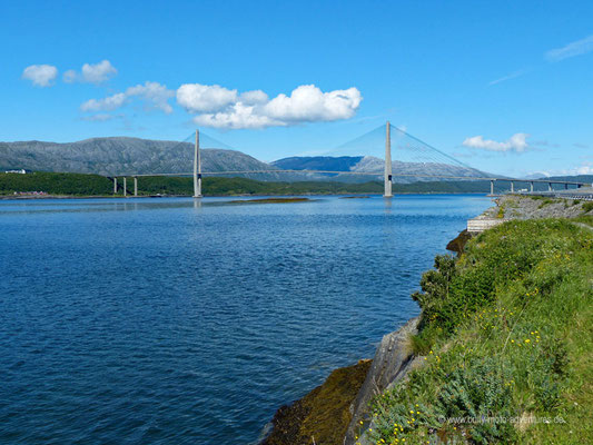 Norwegen - Straße Fv17 - Landschaftsroute Helgelandskysten
