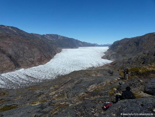Grönland - Blick auf den Gletscher Kiattuut Sermiat