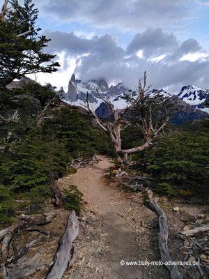 Argentinien - Parque Nacional Los Glaciares - Sendero al Fitz Roy