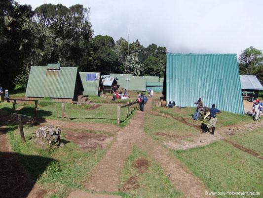 Tansania - Besteigung des Kilimanjaro - Marangu Route - Mandara Huts