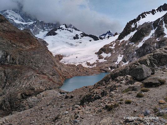 Argentinien - Parque Nacional Los Glaciares - Sendero al Fitz Roy - Laguna de Los Tres