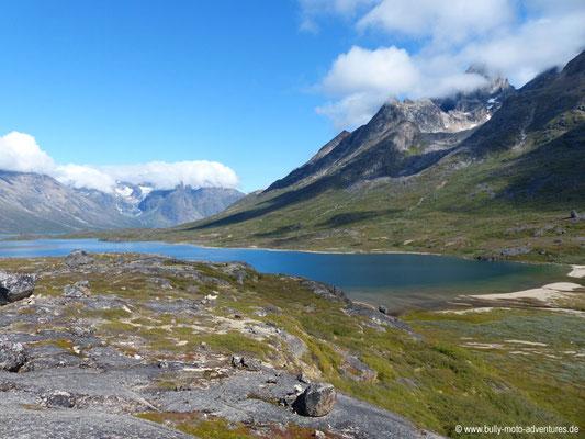 Grönland - Blick auf den See Tasersuaq