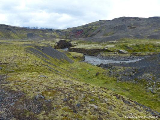 Island - Laugavegur - Etappe 4 - Emstrur nach Þórsmörk