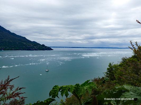 Chile - Parque Nacional Laguna San Rafael - Aussicht auf die Laguna San Rafael
